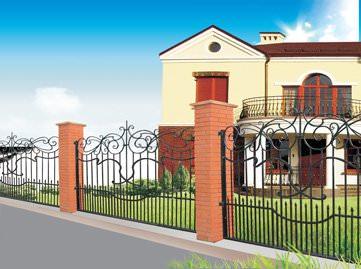 Решётки и ограды